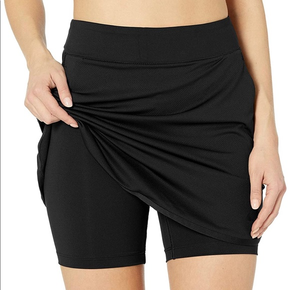 Nike Dresses & Skirts - Size large black Nike dry fit golf skirt 🏌️♀️